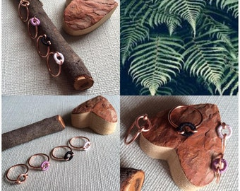 Geometric ring copper, the beneficial virtues.