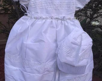 White Baptism Gown, Naming and Blessing, Ropon