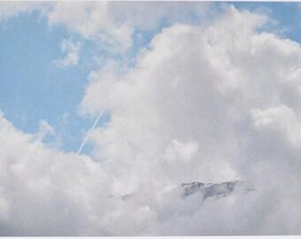 Peak - photographic postcard