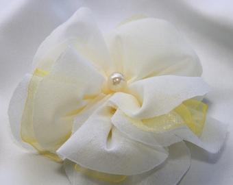 Bridal Flower Hair Piece/ Wedding Hair Flower Clip/ Bridal Hair Flower/ Boho Hair Flower/Hair Flower Clip/Bridal Hair Piece/Bridal Headpiece