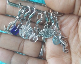 Under the Sea stitch markers | Ocean Creatures