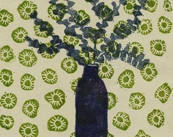 Eucalyptus 7/40 - Original Printmaking