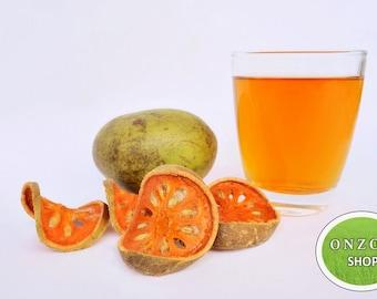 Dried Organic Bael Fruit, Fruit tea, Herbal tea