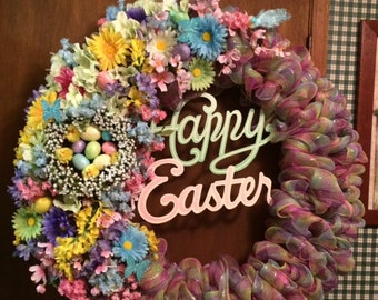 Spring, Easter Holiday Wreath