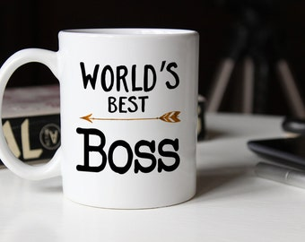 World's Best Boss, Worlds best boss, gift for boss, boss gift, best boss ever, coworker gift, gift for him, Boss Appreciation