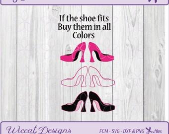 Shoe svg, High Heel svg, Pumps svg, Fashion svg, Shoe dxf , Scanncut, Fcm shoes, shopping svg, quotes svg, girl svg, svg files, dxf cut file