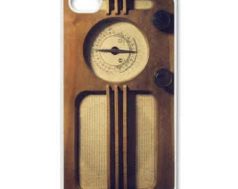 Vintage Radio For Iphone 4, 4s, 5, 6, 6s, 7, 7s Samsung Galaxy S3, S5, S6, S7, S8