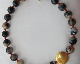 Faceted Agate Choker