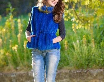 Mink fur vest! Latest fur fashion trends at FurBrand!End of Season sales 30% discount!