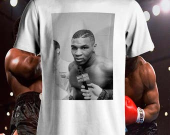Mike Tyson interview classic boxing T-Shirt