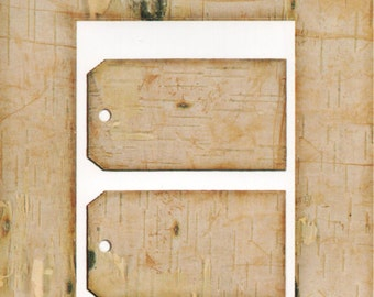 Birch Cardstock Frame My Mind's Eye This & That Scrapbook  Embellishments Cardmaking Crafts