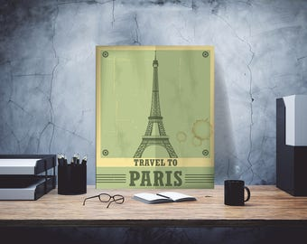 Paris Iron Sign, Paris gift iron sign, Eiffel Tower on iron, Eiffel Iron Gift, Eiffel gift girl, Eiffel beautiful sign, Paris iron gift sign