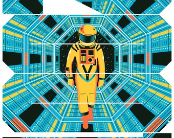 2001: A Space Odyssey Movie Poster (Artist Proof)