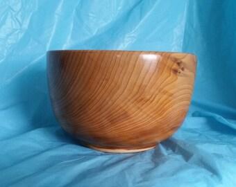 Yew deep bowl