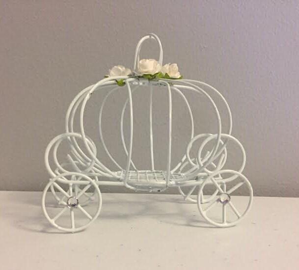 decorated cinderella pumpkin carriage princess carriage wedding favor box pumpkin wedding decorations - Candle Decorations