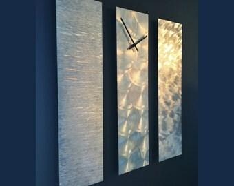 Handmade Designer Aluminum Wall Clock