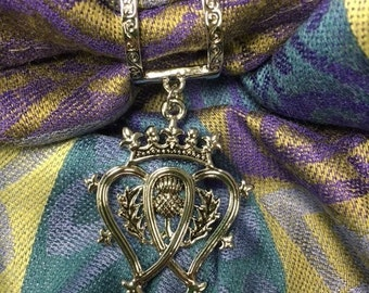 Scarf charm-Luckenbooth