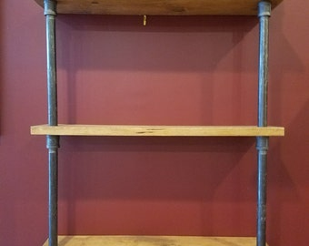 Industrial Steam Punk 3-tier Shelf