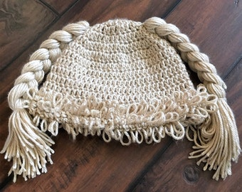 Cabbage patch inspired hat