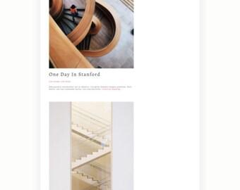 Sandra - WordPress Minimal Blog Theme - Responsive