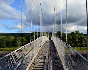 Bridge Over the River Oykel Photo Print
