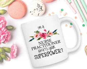 Nurse Practitioner, Nurse Practitioner Gift, Nurse Practitioner Mug, Nurse Gift, Nurse, Gift For Nurse, NP Gift, Nurse Graduation, NP, Mugs