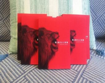Signed Rebellion Paperback