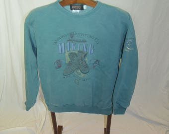 Vintage Mens Wind River Outfitting Company Rugged Hiking Sweater / Sweatshirt Size Small rSLKnLFcdn