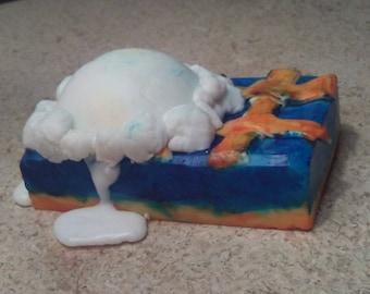 Blueberry Cobbler - Goat's Milk Decoration Soap