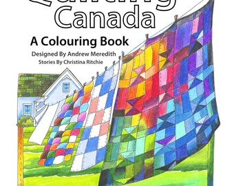Quilting Canada Colouring Book