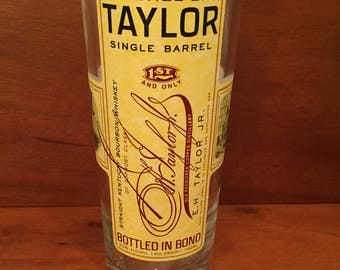Colonel E.H. Taylor EH Taylor Candle Single Barrel Bourbon Whiskey Soy Candle. Buffalo Trace Distillery. 750ML. Made To Order !!!!!!!