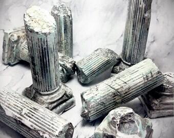 Stone Column Set (9) - KDM - Kingdom Death Monster - RPG - 3D Terrain - Tabletop - Miniature Game - Pillars - Kingdom - Death - Monster