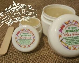 2 oz Spa Fresh Natural Deodorant