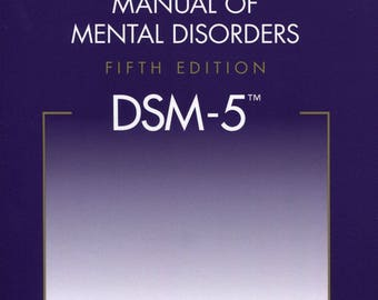 Diagnostic and Statistical Manual of Mental Disorders DSM-5, 5th Edition - eBook, ePUB, Mobi, PDF (Fast instant delivery)