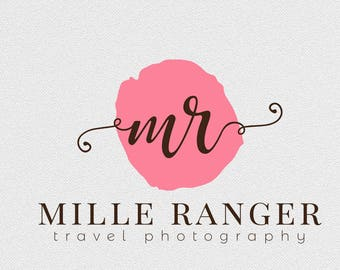 Shop logo, premade logo, Logo design, custom logo, branding, Typography, feminine