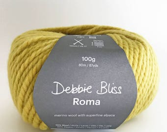 Debbie Bliss - Roma - One ball of yarn (100 grams) - Citrus - Colour: 53008