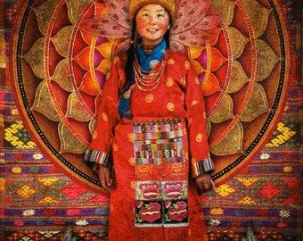 Mandala. Greetings card. Art cards. Romany Soup.