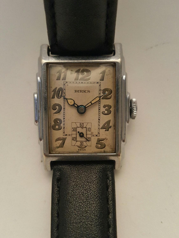 stunning vintage deco birks wrist circa