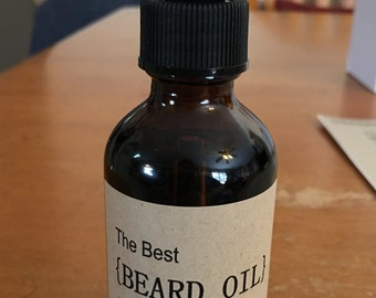 The Best {BEARD OIL} You've Ever Seen