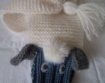 Alpaca mohair self woven and knitted itself! wonderfully soft
