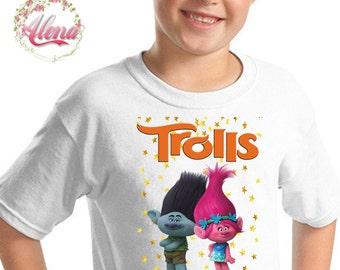 Trolls Iron On Transfer , Trolls Printable Iron On Transfer , Trolls T-Shirt Transfer , Trolls T-Shirt Iron On Transfer , Instant Download