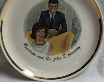 President and Mrs. John F. Kennedy Collector Plate (#012)
