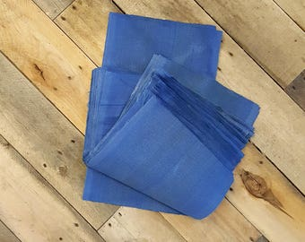 Blue Polishing & Staining Hand Rags (50 per pack)