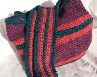 100% Durable Hemp Crocheted Bag