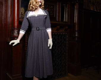 1950s dress after original cut