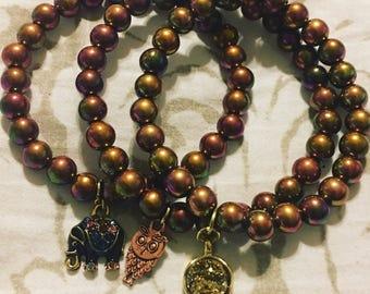 Handmade Charm Beaded Bracelet