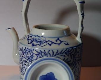Vintage 1920's Floral Ceramic Teapot