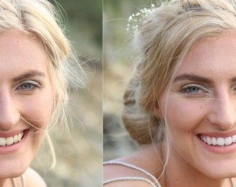 Teeth bleaching / retouch / teeth whitening