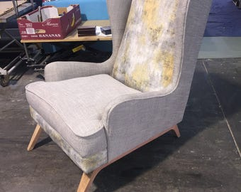 Curved Wingback