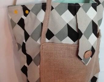 bag cotton canvas and jute